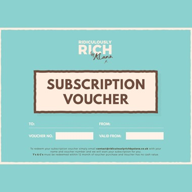 Six or Twelve Month Subscription