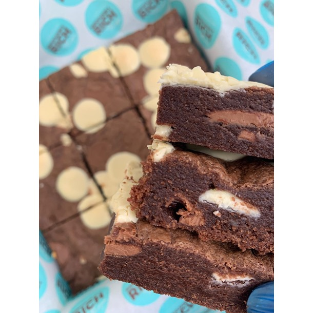 Double Chocolate Cookie Cake Bar