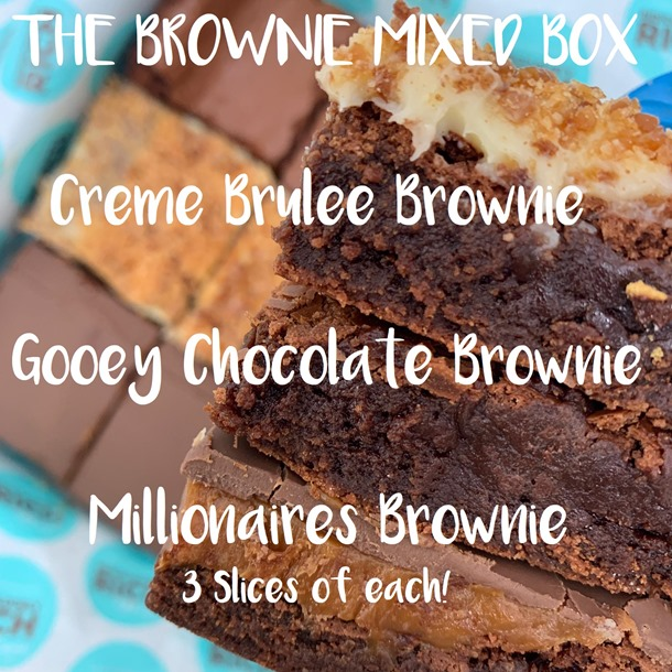 The Ridiculously Rich Brownie Mixed Box