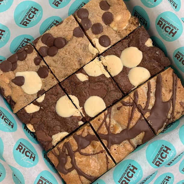 Cookie Cake Bar Mixed Box