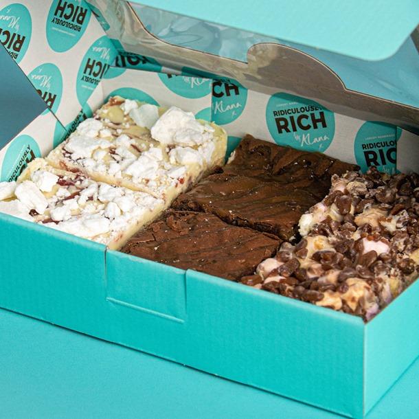 August Special: Lotus Biscoff Brownie & Cookies & Cream Tiffin